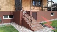 Отделка цоколя штукатуркой мраморная крошка, Ростов-на-Дону