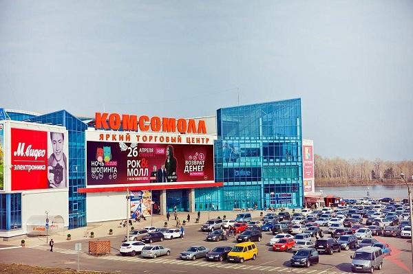 Торговое помещение в ТРК Комсомолл, Красноярск