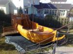 Корабль-беседка эксклюзив на Вашем участке для детей