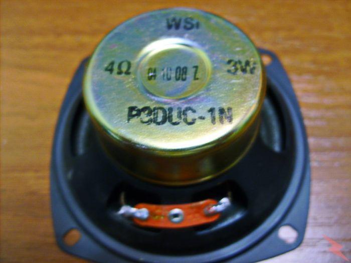 Продаю широкополосный динамик WSI 4 ом 3w, Самара