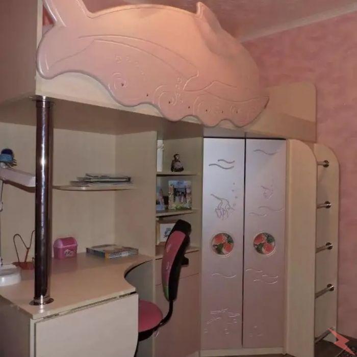 Продам кровать-чердак для девочки, Томск