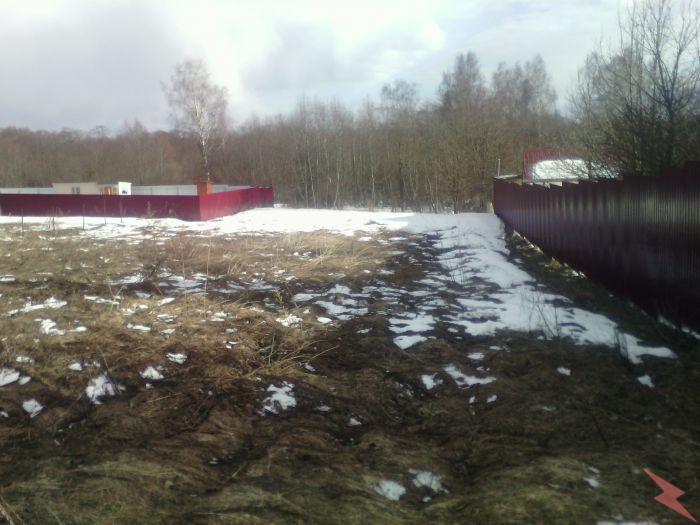 Земельный участок 10 соток в с т около села Покровское, Руза