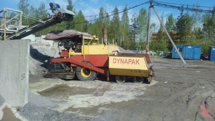 Продается колесный асфальтоукладчик 11011R DYNAPAC Германия, Всеволожск
