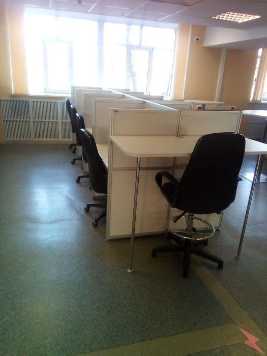 Модульный стол для колл центра, МОСКВА