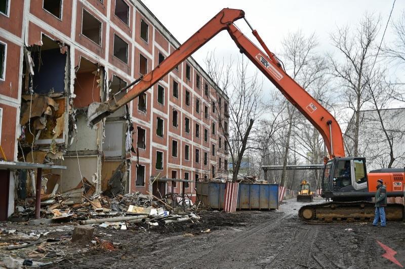 Демонтаж и снос строений, МОСКВА