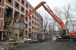 Демонтаж и снос строений