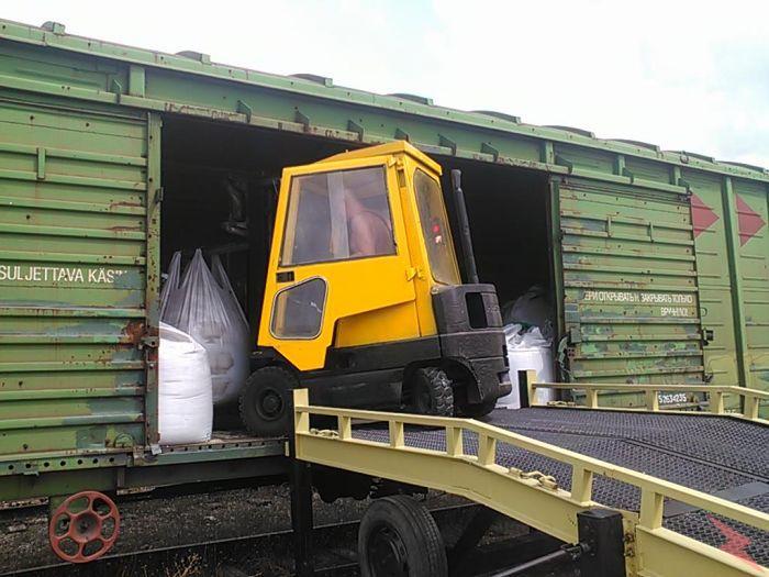Приём и отправка полувагонов, крытых вагонов, платформ, Севастополь