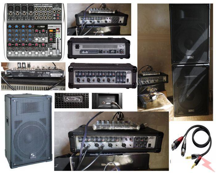 Продам комплект муз. аппаратуры для озвучивания мероприятий, Сургут