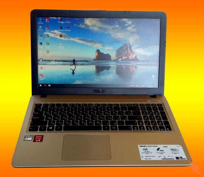 Ноутбук ASUS модель X540YA- XO751T бу в отличном состоянии, Краснодар