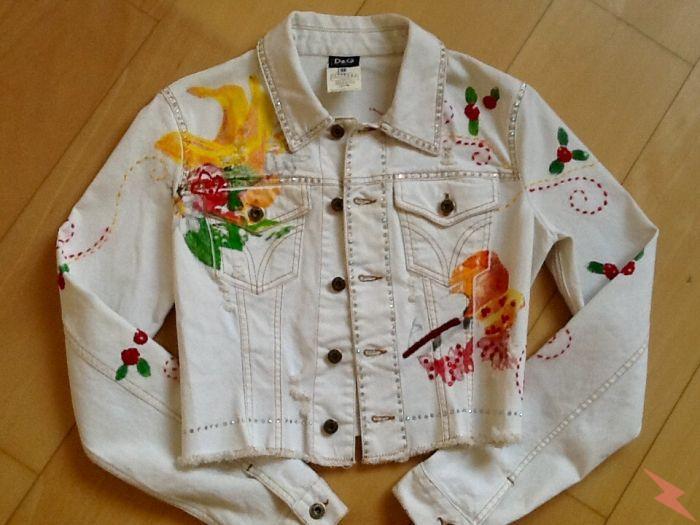 Джинсовый укорочённый пиджак D G оригинал, Красноярск