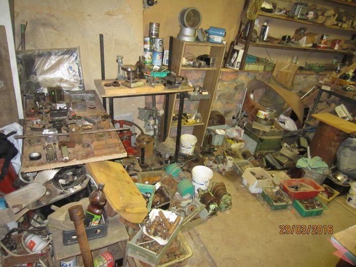 Оборудование из личной мастерской, настольный токарный ...,  Самара