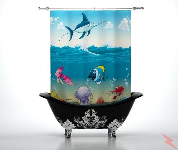 Шторка для ванны Vileton 145X180, МОСКВА