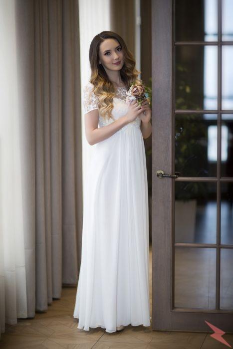 Новое свадебное платье для беременных, Видное
