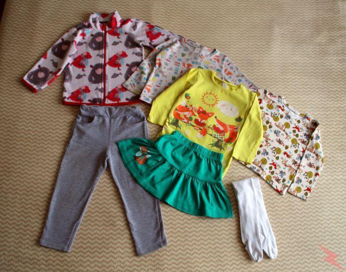Вещи для девочки, комплект 1 на 2-3 года, САНКТ-ПЕТЕРБУРГ