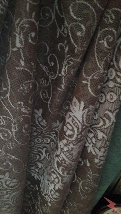 Новые шторы из кружевного полотна с рисунком,  Челябинск