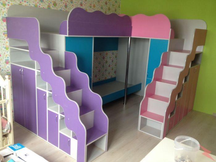 Симпатичные и многофункциональные детские кровати, Новосибирск