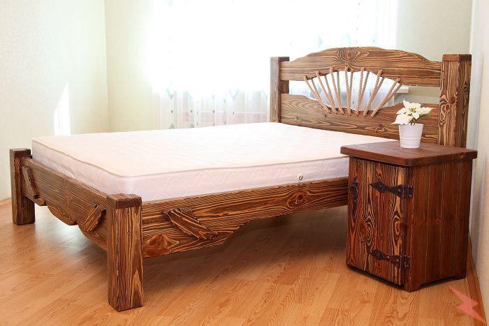 Кровать из массива сосны Ольга, Людиново