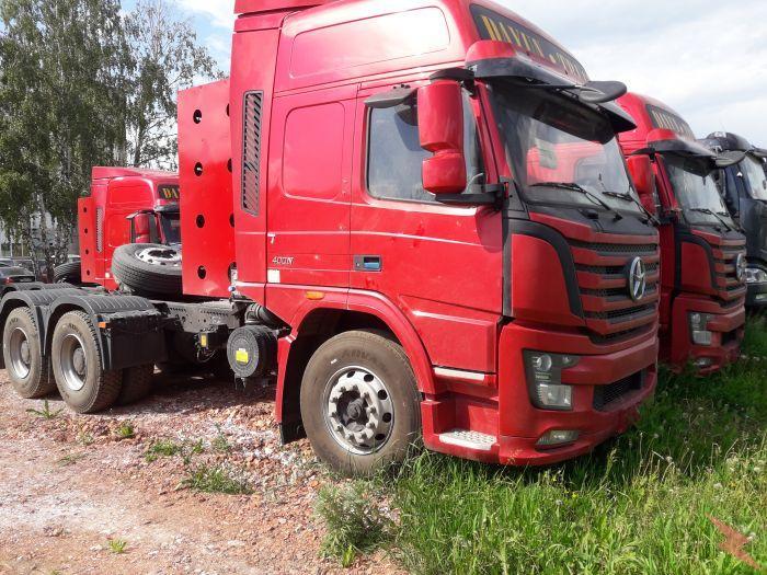 Седельный тягач на метане КПГ Dayun 6х4,  Челябинск