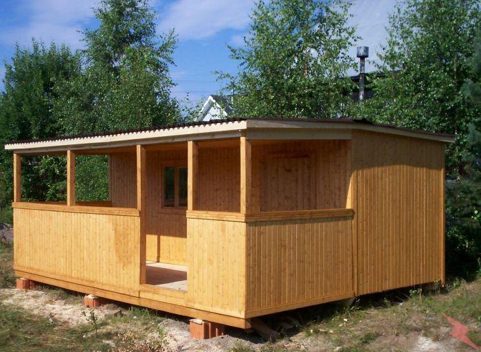Бытовка деревянная, металлическая для дачи, стройки, Руза