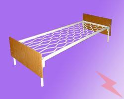 Кровати металлические купить крупным и мелким оптом, МОСКВА