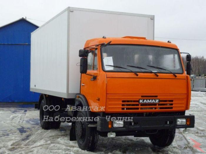 КамАЗ 43253 фургон, без пробега новый,  Псков