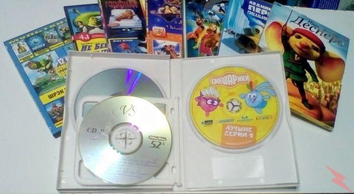 ДВД - диски. Фильмы и мультфильмы, МОСКВА