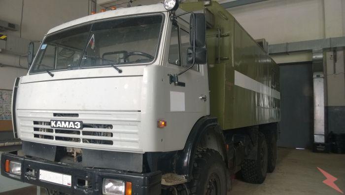 Камаз 43118 2009-2010 года выпуска, Волгоград