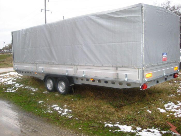Новый польский прицеп для перевозки грузов и автомобилей - ..., Смоленск