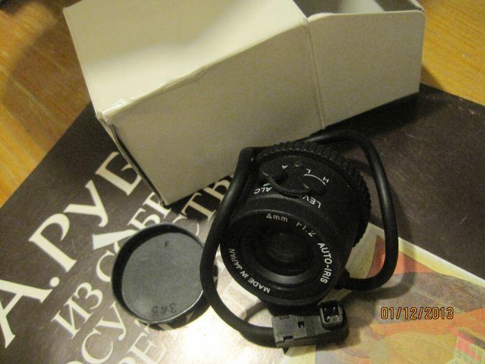 Новый 4 мм объектив с автофокусом, МОСКВА