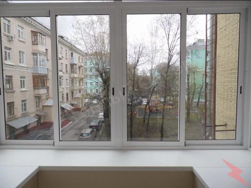 Раздвижное алюминиевое остекление, Краснодар