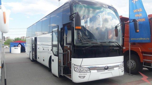 Туристический автобус Yutong ZK 6122 H9 53 места, Курган