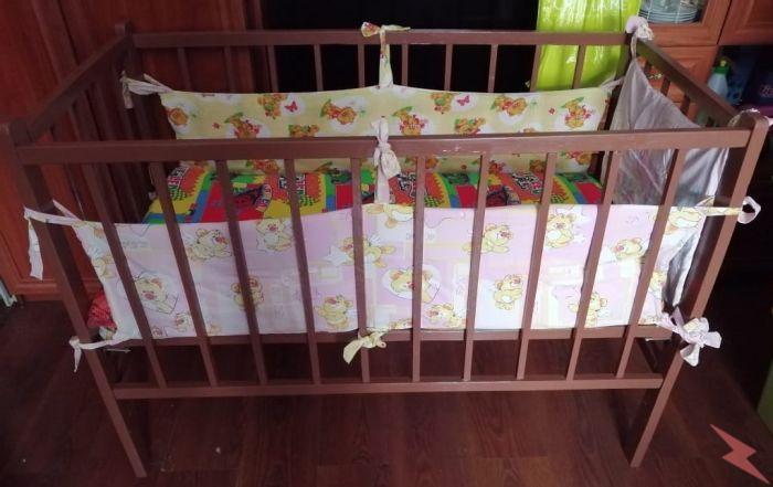 Продам простенькую детскую кроватку, Томск