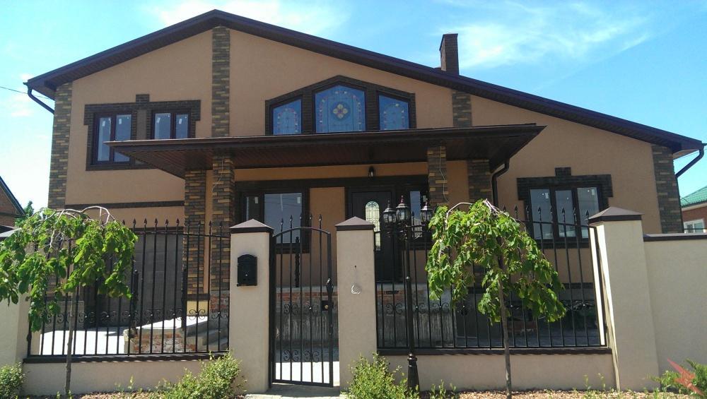 Капитальный ремонт фасадов частных домов, Ростов-на-Дону