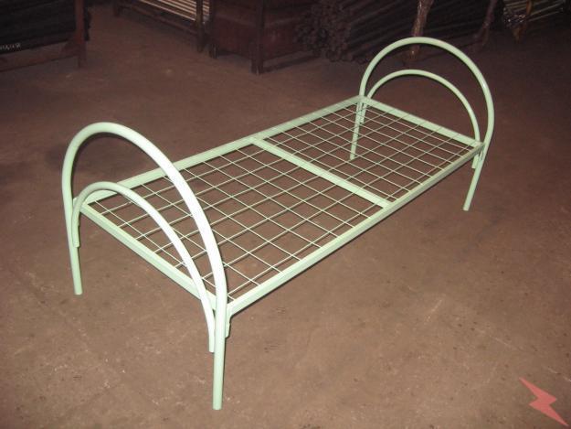 Бюджетные металлические кровати для военнослужащих, Петрозаводск