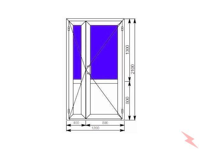 Алюминиевые двери и окна, Краснодар